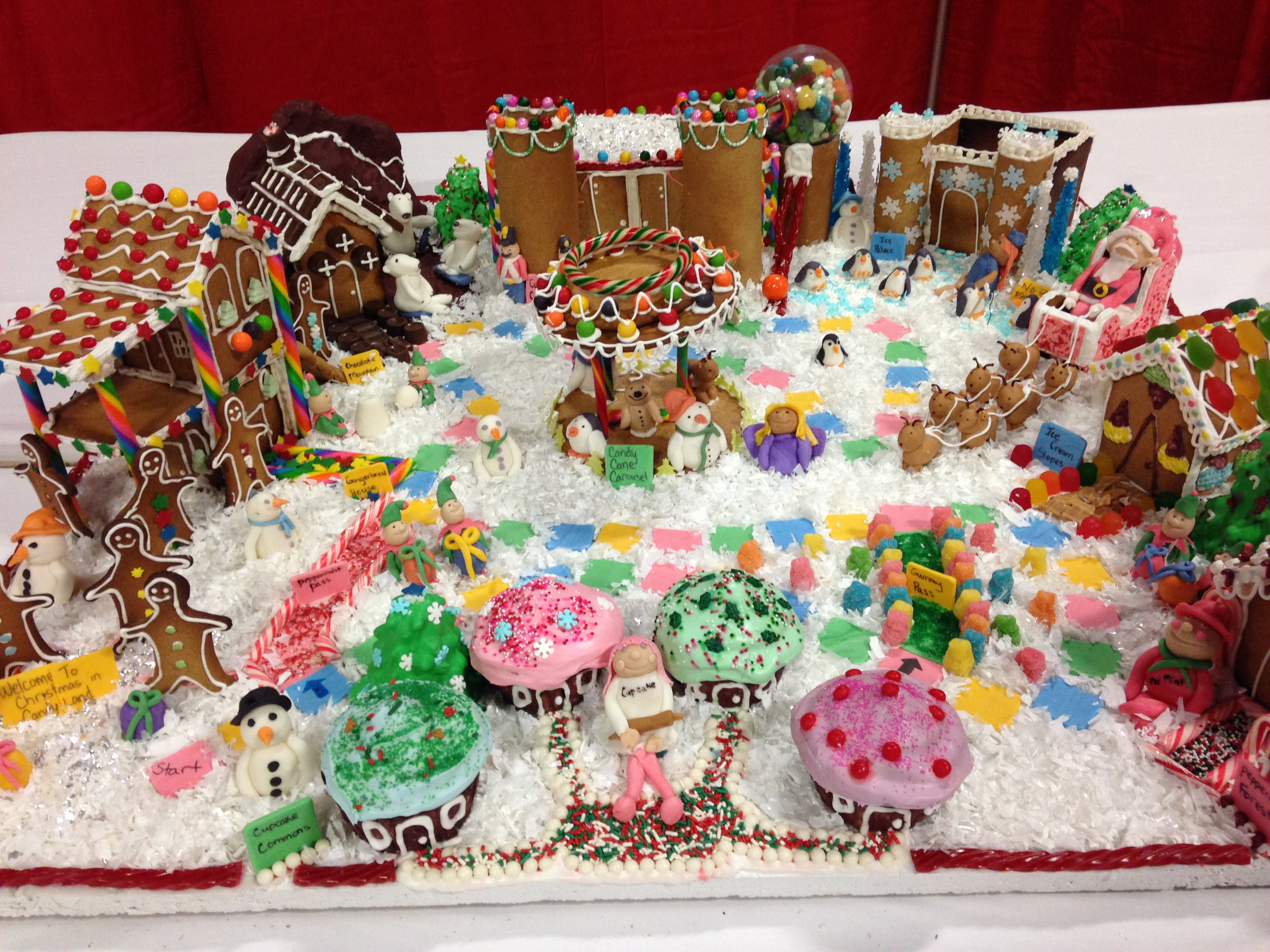 Candyland Decorations For Christmas