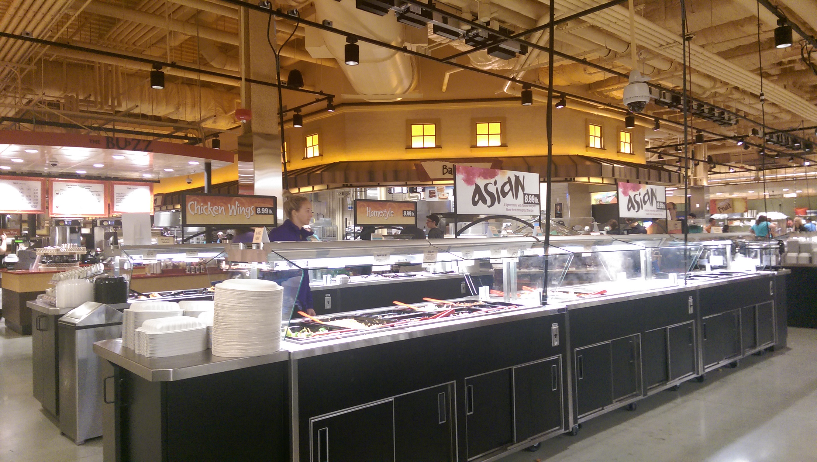 Stores a little bit about a lot of things for Food bar wegmans